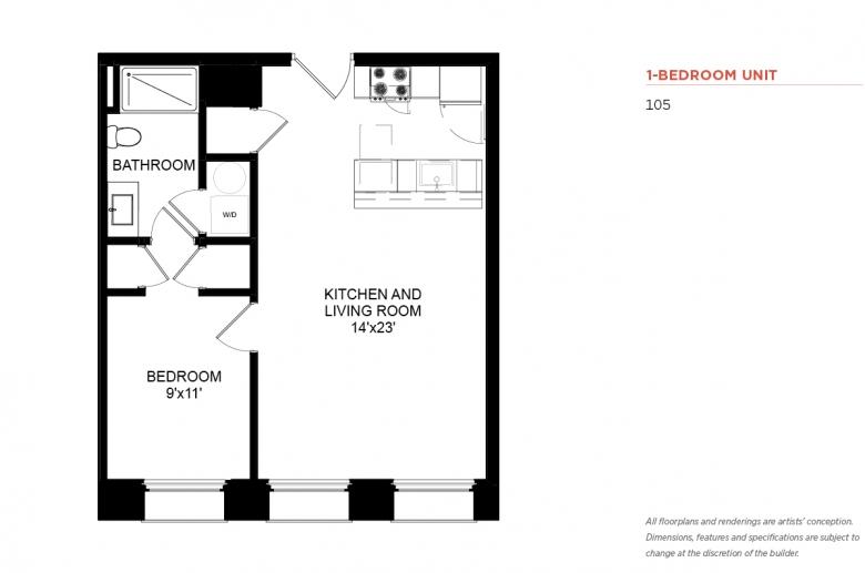 Floor Plan Railroad Apartment
