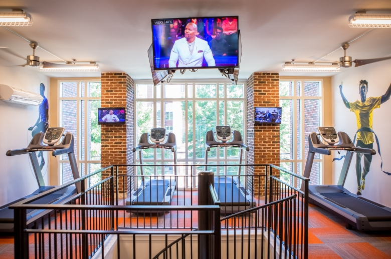 Cardio fitness equipment at 612 Whaley