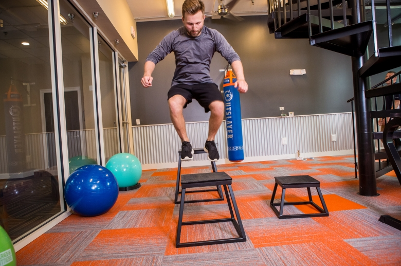 612 Whaley's state-of-the-art fitness center