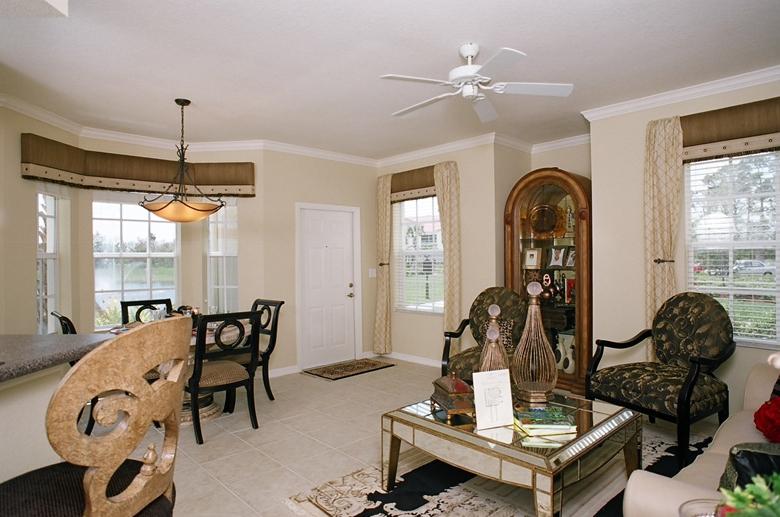 Estates at Stuart living room alt view