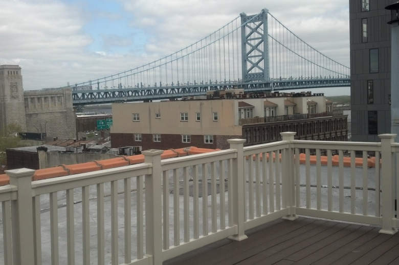 Chancery rooftop deck