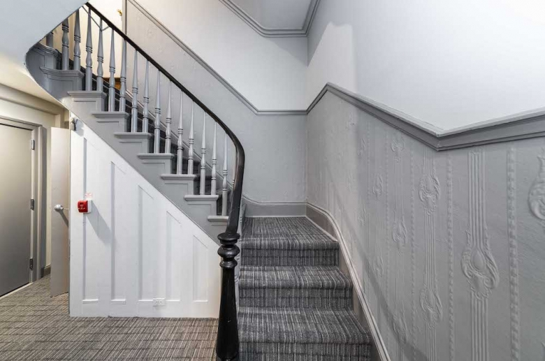 Modern-styled stairs