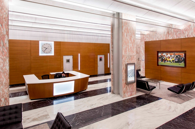 Updated modern lobby