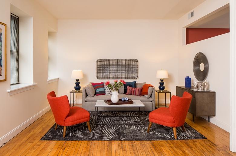 Strouse Adler Living Room