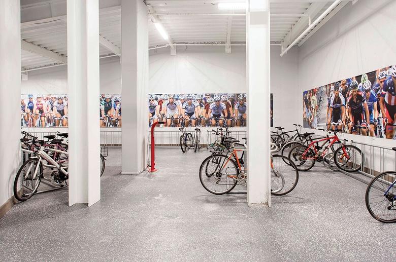 2040 Market bike room