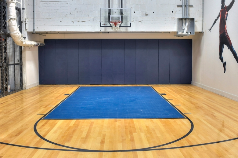 The Residences At R J Reynolds Building Indoor Basketball