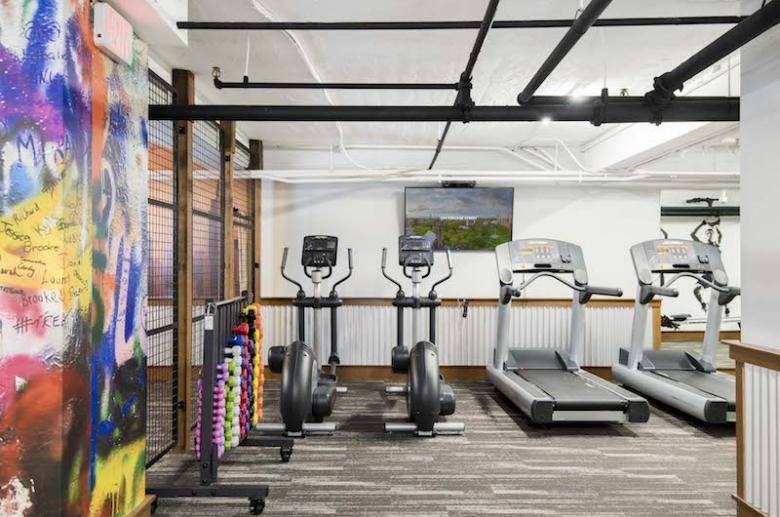 Cardio training equipment
