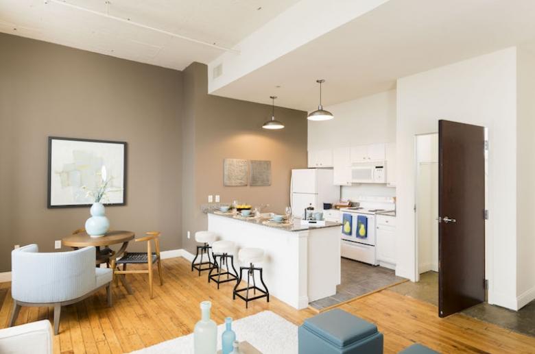 Living spaces feature abundant natural light