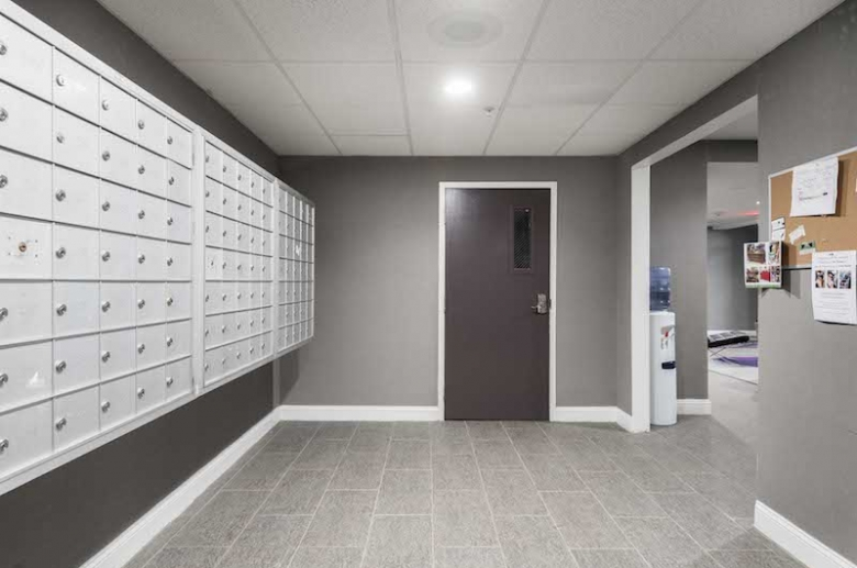 Resident mail room