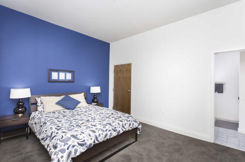 University Apartments bedroom