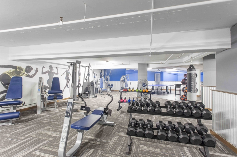 Parkway House Resident Fitness Center