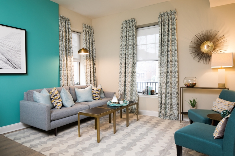 Warm and welcoming living spaces