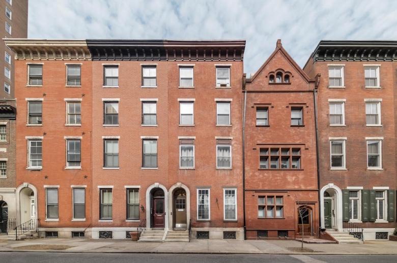 1825 Spruce Street in Rittenhouse Square