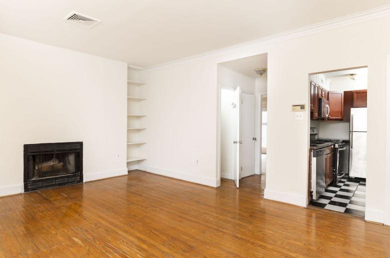 Generously sized open floorplans