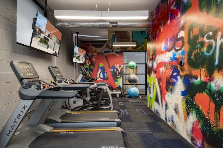 Plant 1 state-of-the-art gym