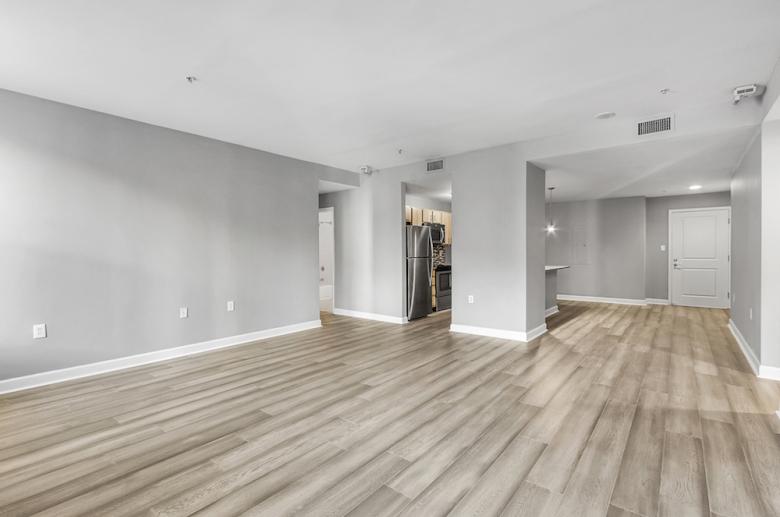 Open concept floorplan