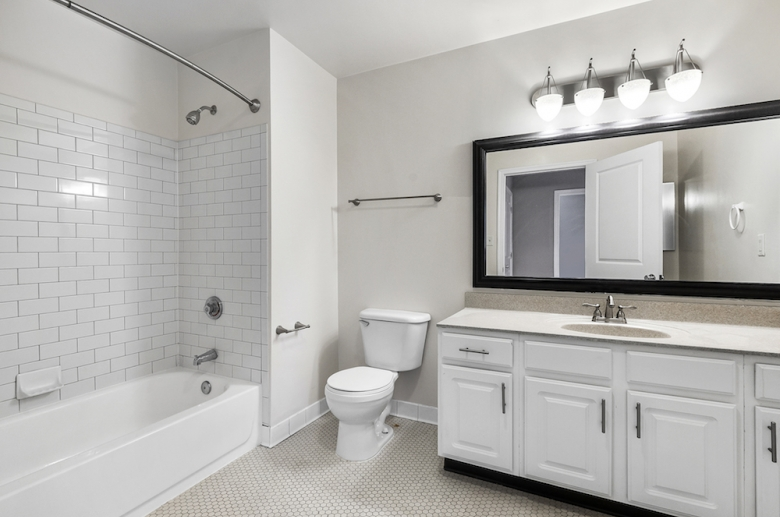 The Munsey updated modern bathrooms