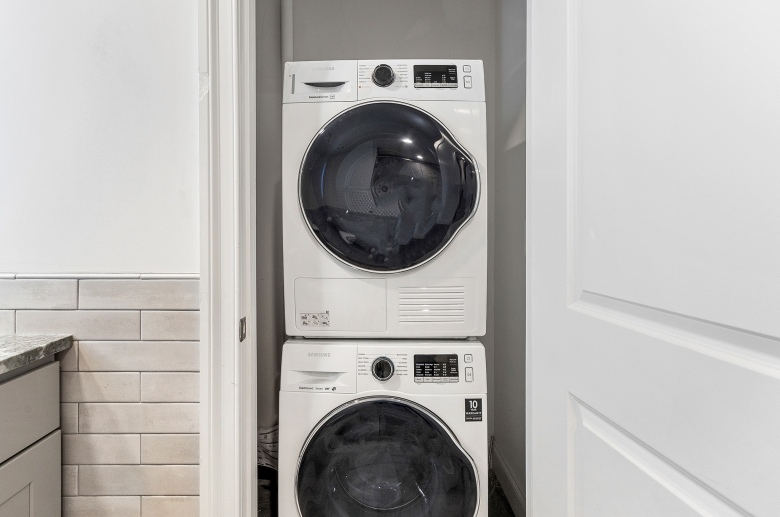 Riverwalk in-unit washer and dryer