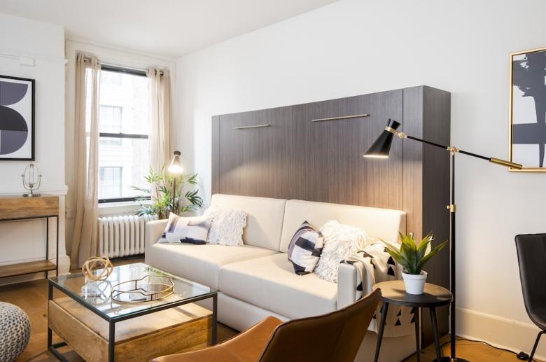 Adelphia House living space