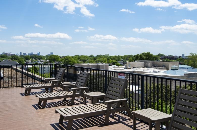 Kensington Court roof deck