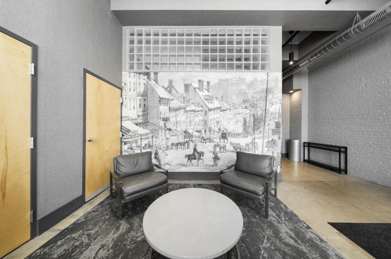 Modern updated lobby