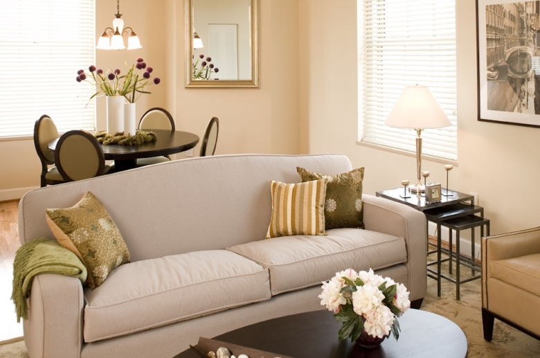 Warm and welcoming entertaining spaces