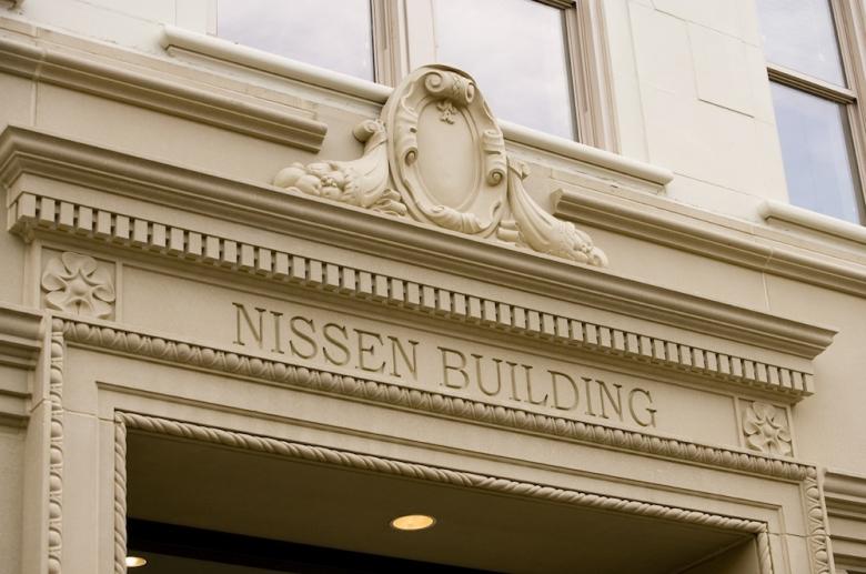 Nissen Building facade