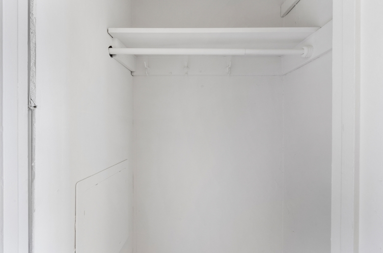 Abundant storage space