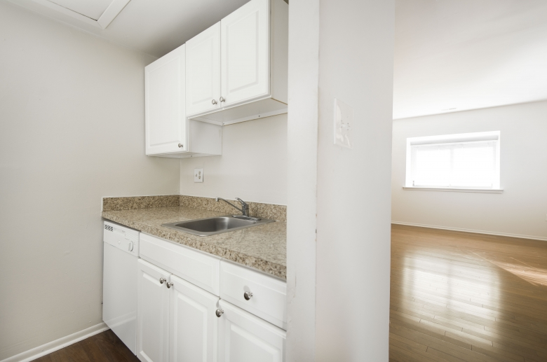 Warm and welcoming kitchen and living space