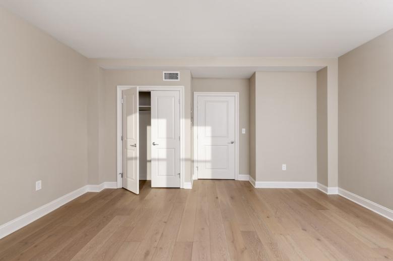 Abundant bedroom storage