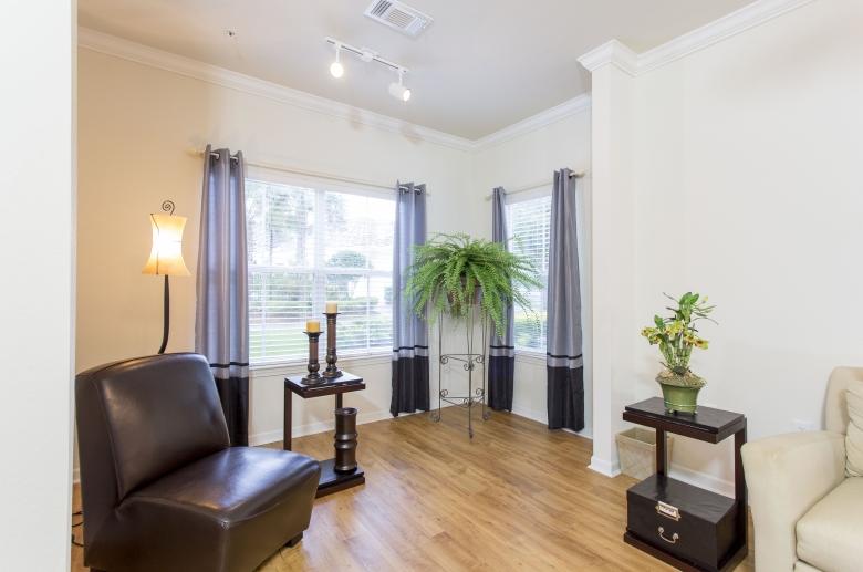 Generously sized windows and abundant natural light