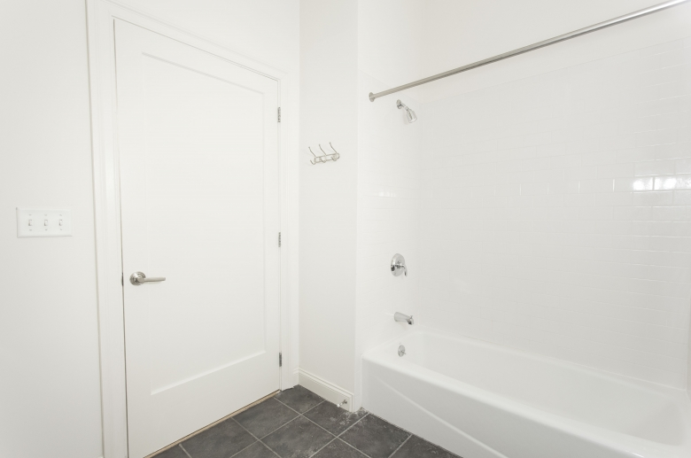 Modern tiled bathrooms