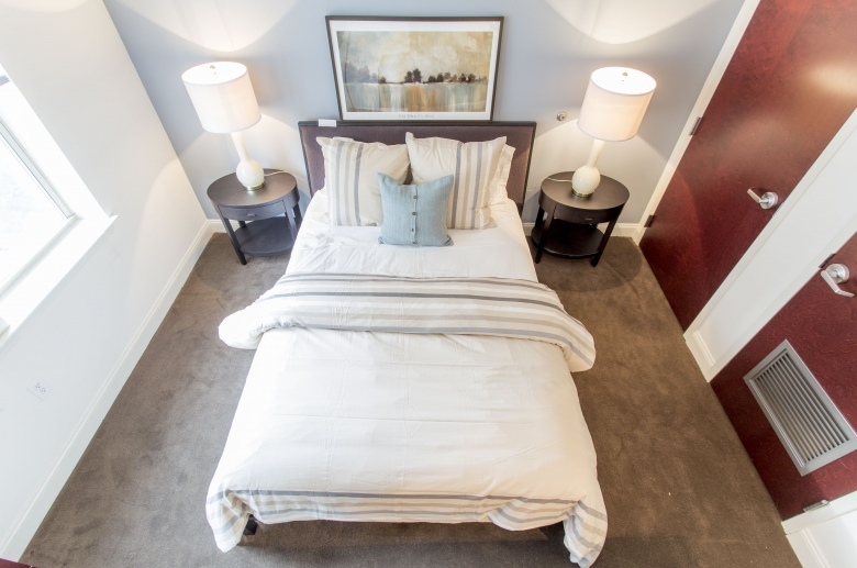 Bedrooms with ample storage