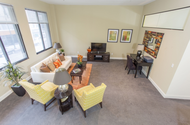 Residence Court living area