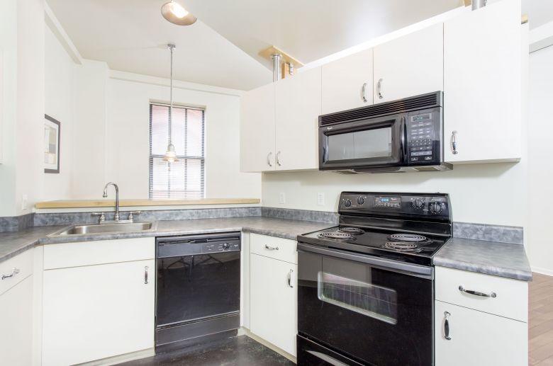 Modernly appointed kitchens