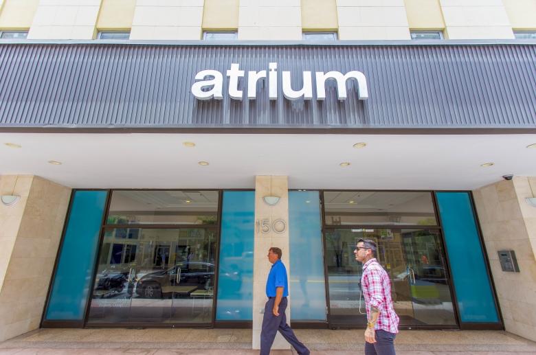The Atrium entrance