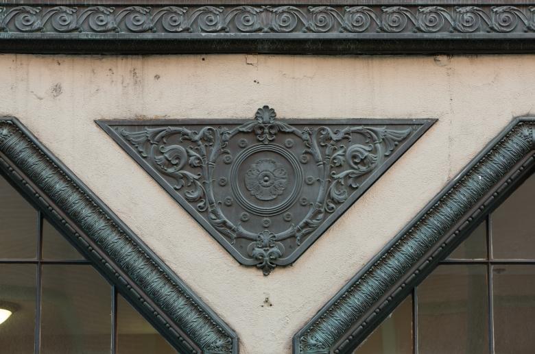 1220 Sansom architetural detail