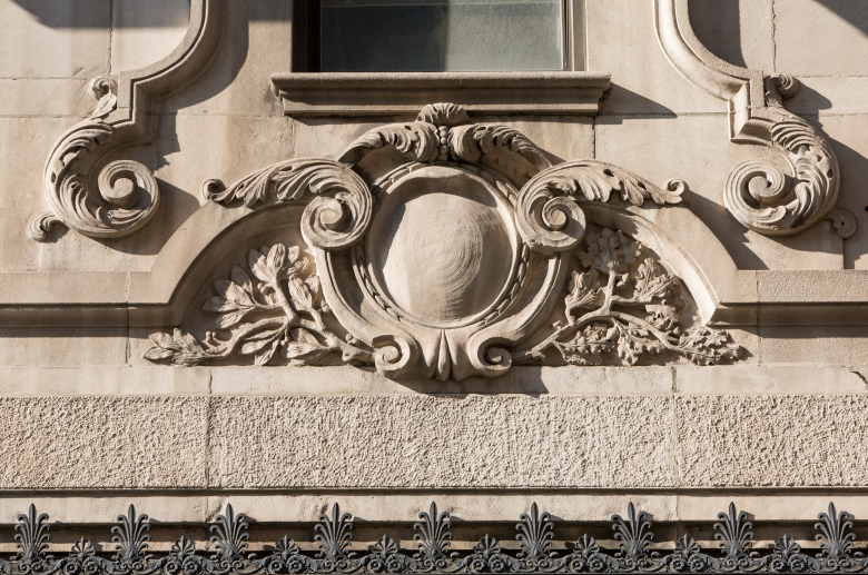 1300 Chestnut architectural detail