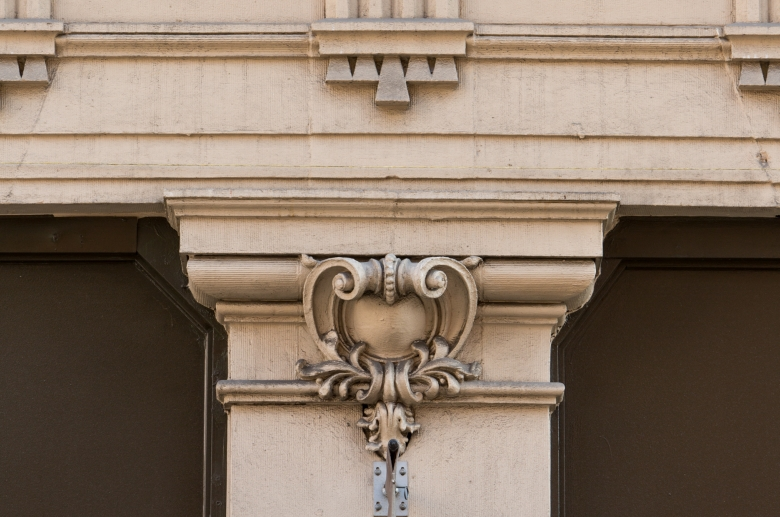 Empire Apartments architectural detail