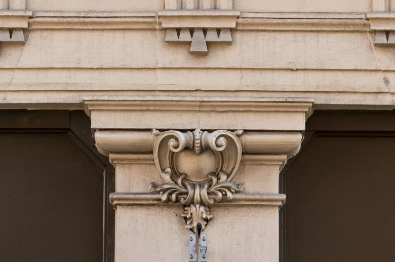 Empire Apartments architectural detail