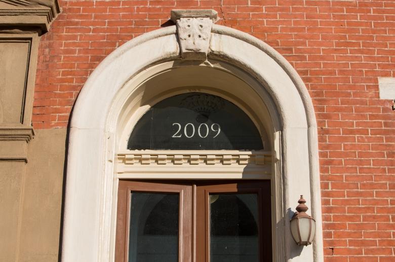 2009 Spring Garden front door