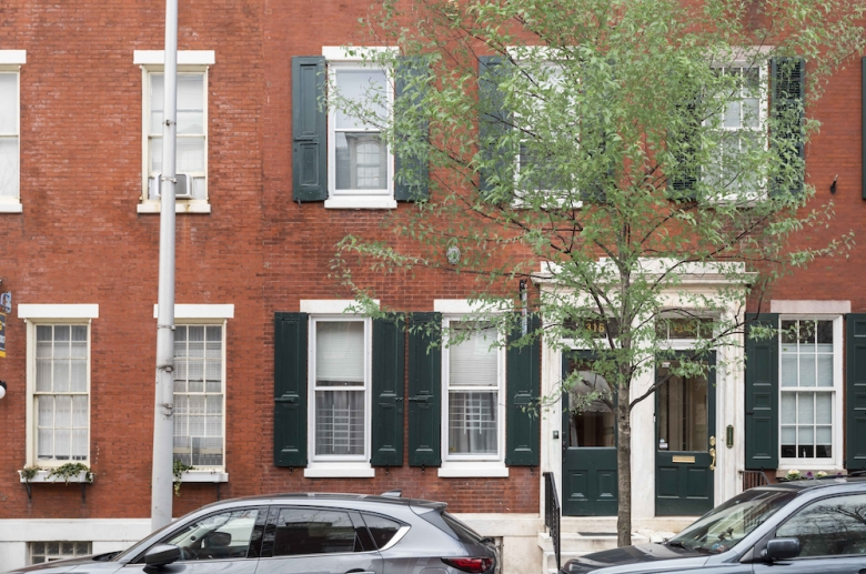 1316 Pine Street historic building facade