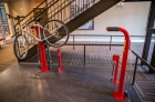 612 Whaley's bike pump and tool stand