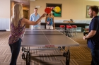 Ping-pong table at 612 Whaley