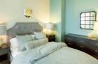 Generously sized bedroom