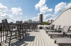 Fully furnished roof deck
