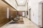 Newly renovated lobby at 1600 Walnut