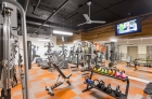 Strength training equipment at 1600 Walnut