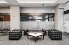 Residents lounge seating area at 915 Main Street