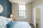 Bedroom with ample storage